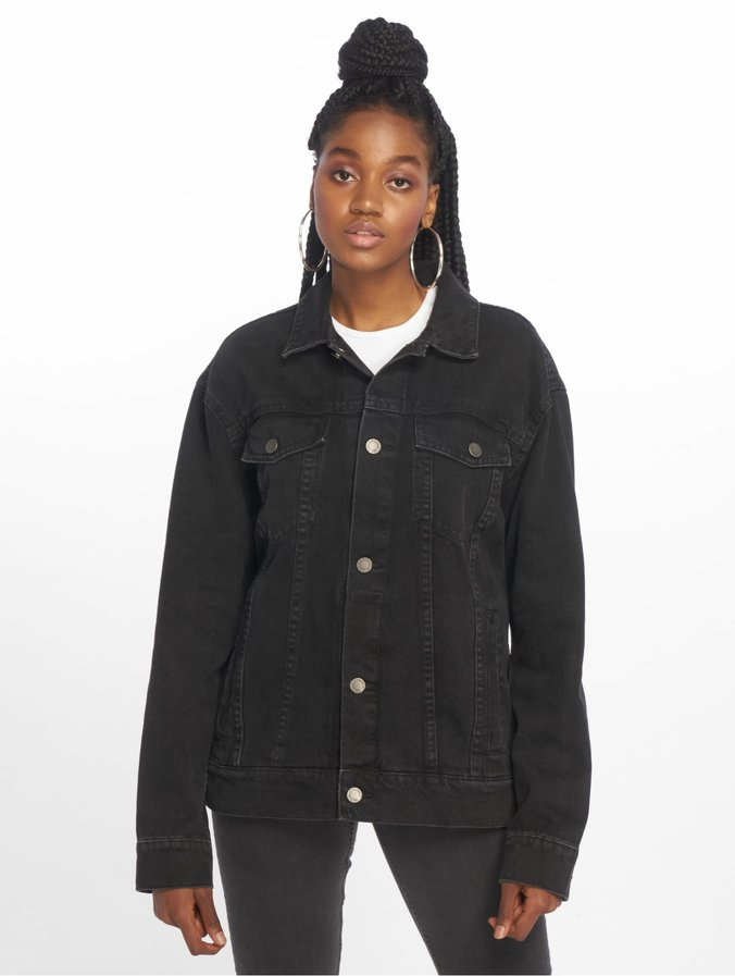 nice cheap where to buy special for shoe Cheap Monday Dust Black Denim Upsize Jacket Black