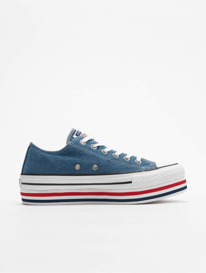 Converse Chuck Taylor All Star Platform Layer Ox Sneakers Mason BlueWhiteBlack