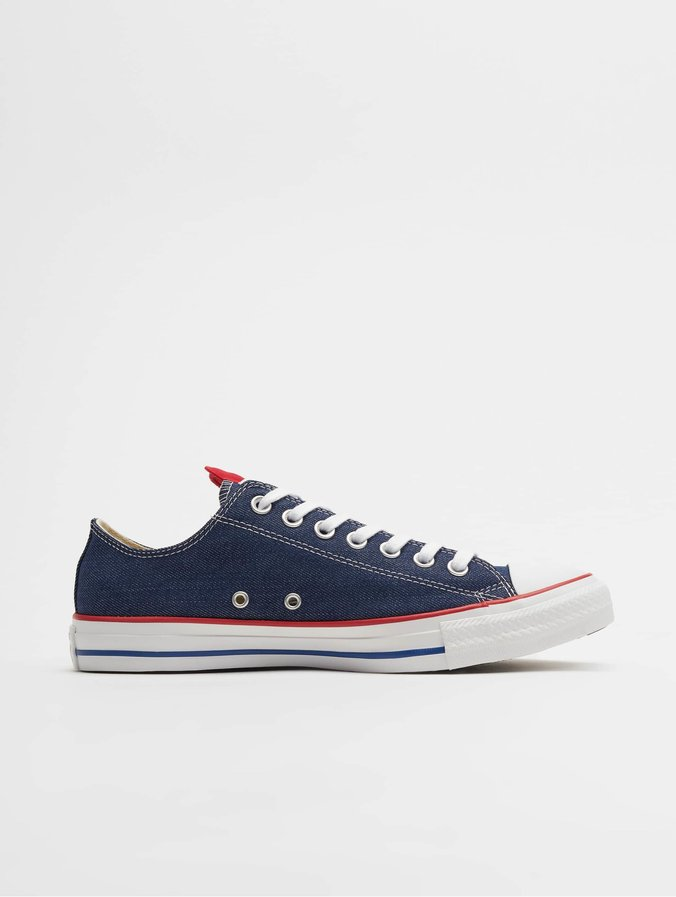 Converse Chuck Taylor All Star Ox Sneakers IndigoEnamel RedWhite