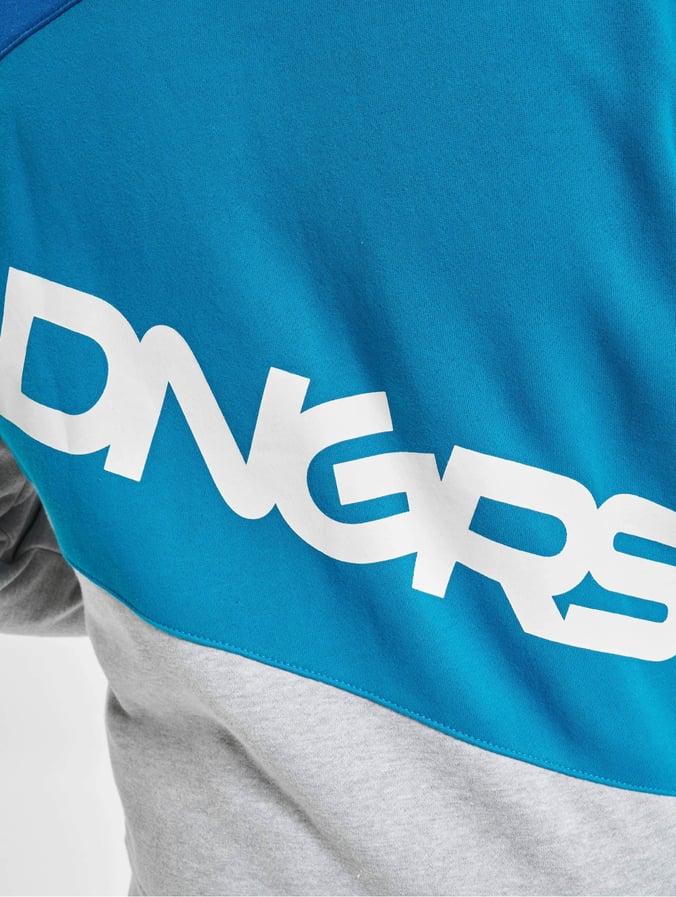 Dangerous DNGRS Hommes Costume Marne en bleu grande taille S à 6xl