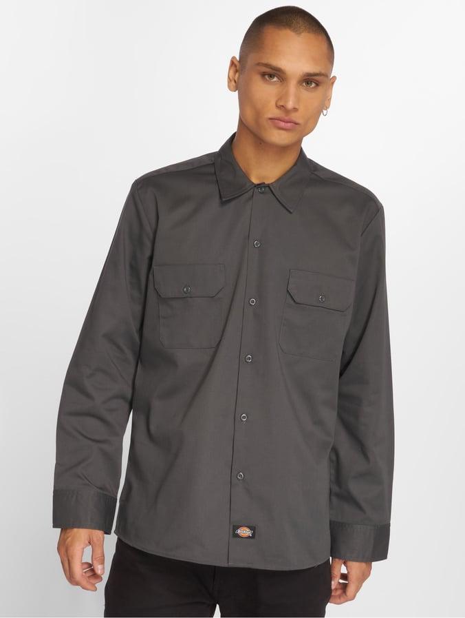 Dickies Long Sleeve Work Shirt Camisa para Hombre