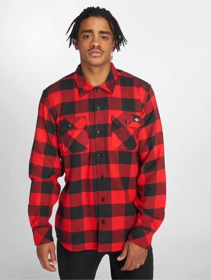 huge selection of 3a427 a584f Dickies Sacramento Shirt Red