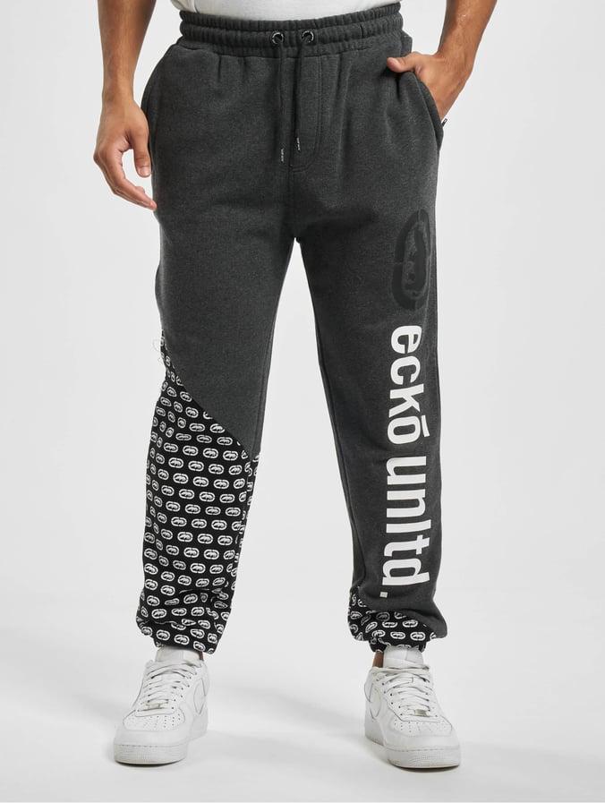 Hommes ECKO UNLTD épaissie Skateboarding Jogging Coton Lâche Warm Guard Pantalon