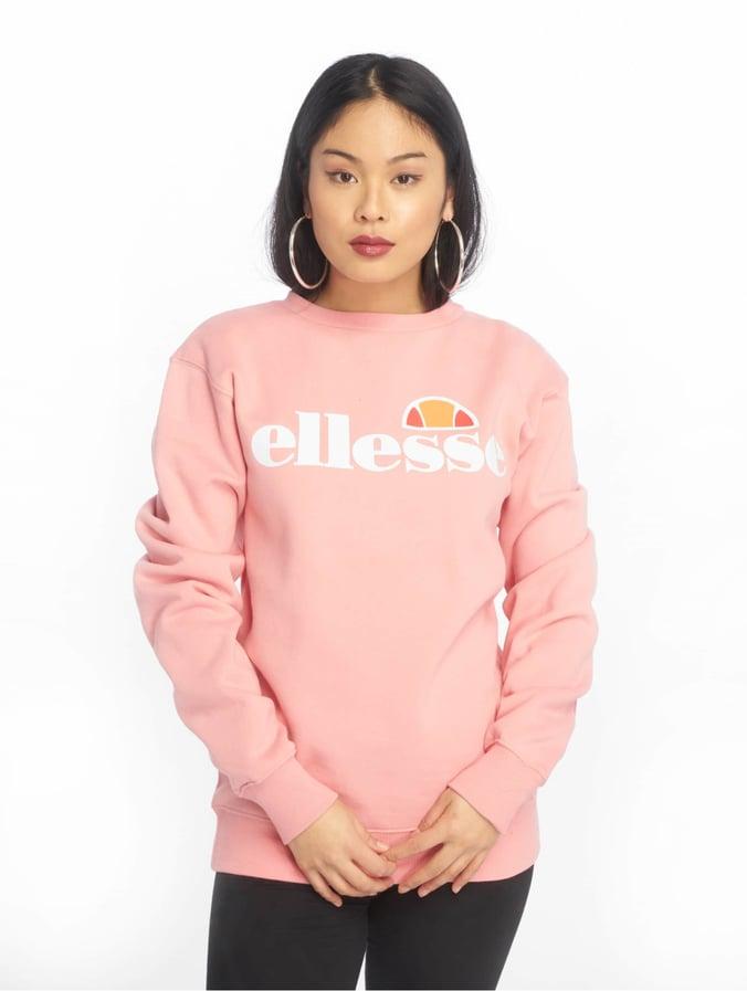 am modischsten glatt große sorten Ellesse Agata Sweatshirt Soft Pink