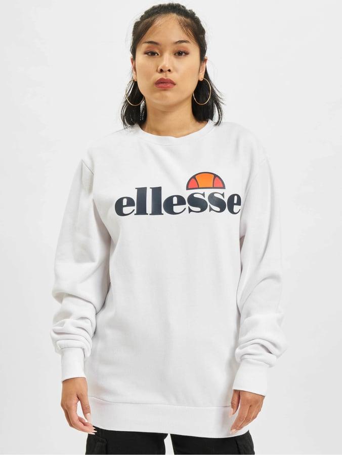 info for 9038e 06eca Ellesse Agata Sweatshirt Optic White