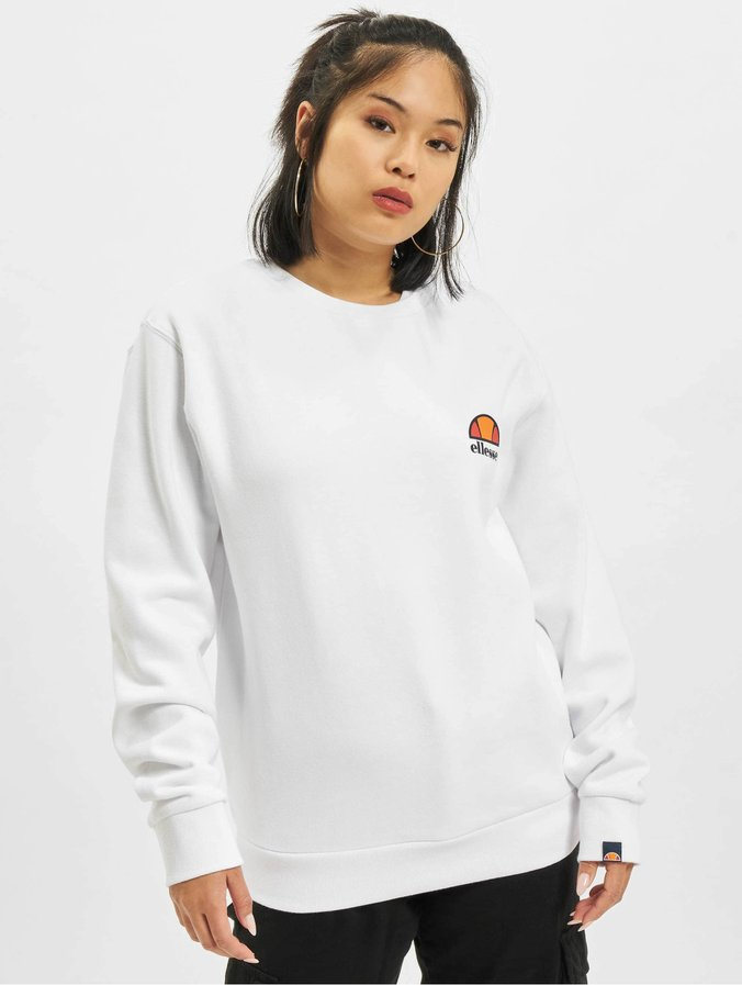 Ellesse Haverford Sweat shirt blanc | BrandAlley