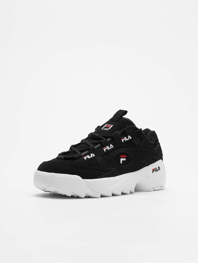 taille 40 fa64b c60df FILA D Formation Sneakers Black/Fila Red/White