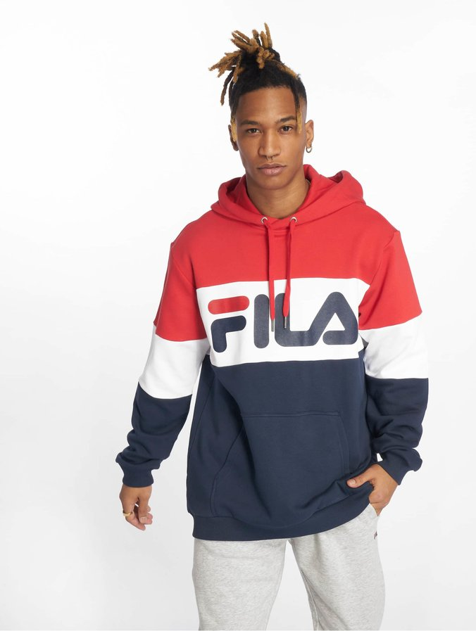 Fila Urban Line Night Blocked Hoody Black Iris/True Red/Bright White