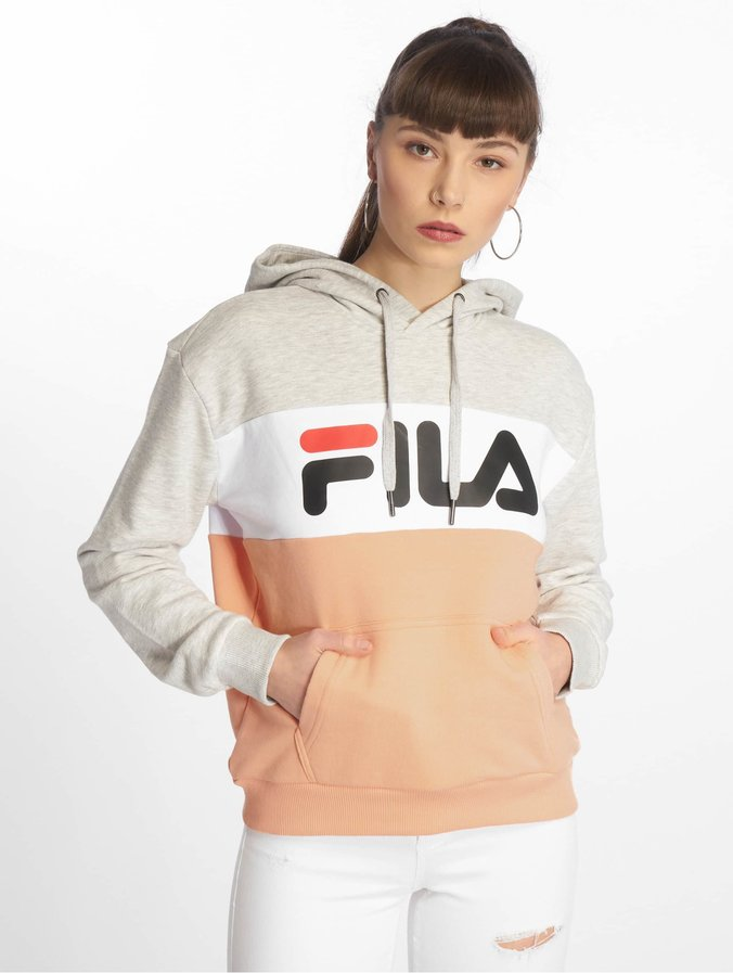 Fila Urban Line Lori Hoody Light Grey/Salmon/Bright White