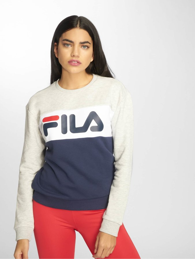 Fila Urban Line Leah Sweatshirt Black Iris/Light Grey/Bright White