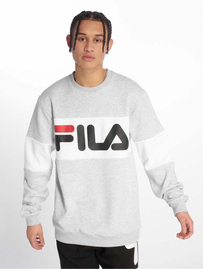 Fila Urban Line Straight Blocked Sweatshirt Light Grey Melange