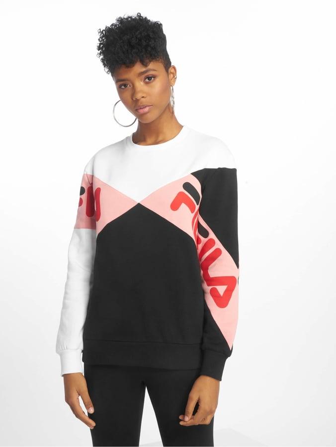 FILA Lidia Boyfriend Fit Sweatshirt Black/White
