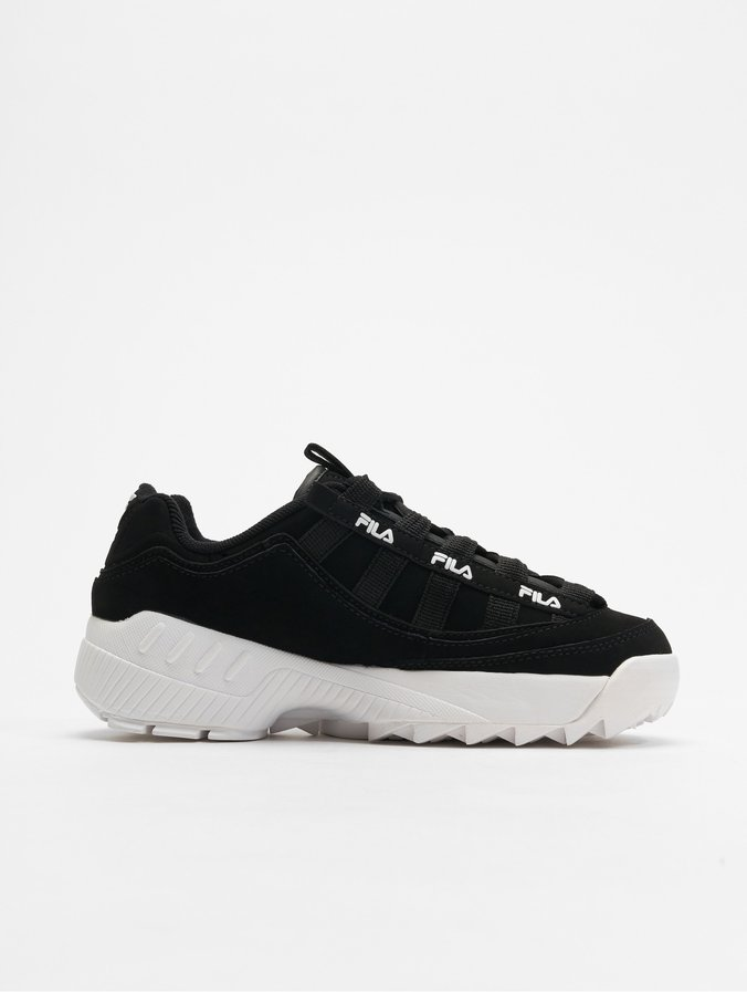 FILA Heritage D-Formation Sneakers Black/Metallic Silvern/White