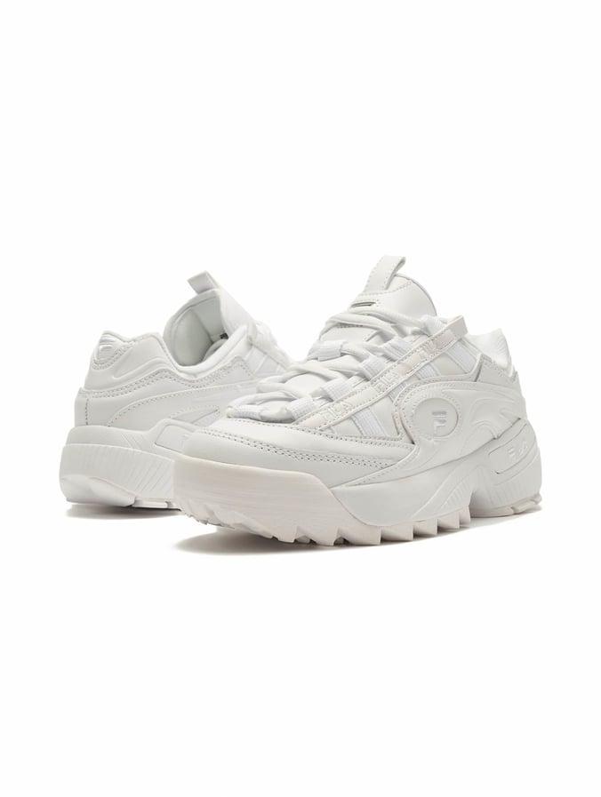 Fila D Formation Sneakers White/White/White