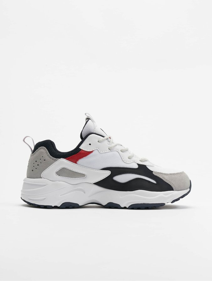 Fila Heritage Ray Tracer Sneakers White/Fila Navy/Fila Red