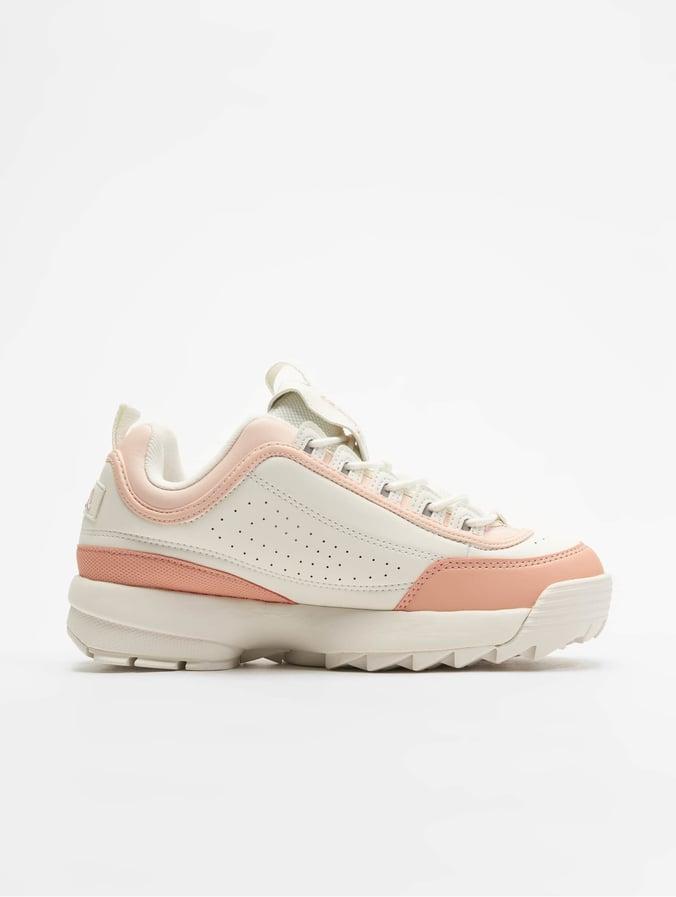 grote verscheidenheid aan modellen korting te koop ooit populair Fila Heritage Disruptor CB Low Sneakers Marshmallow/Salmon