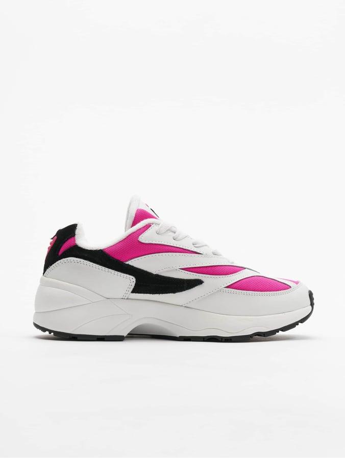 Fila Heritage V94M Low Sneakers WhiteVery BerryBlack