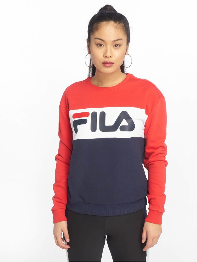 Fila Urban Line Leah Sweatshirt Black IrisTrue RedBright White