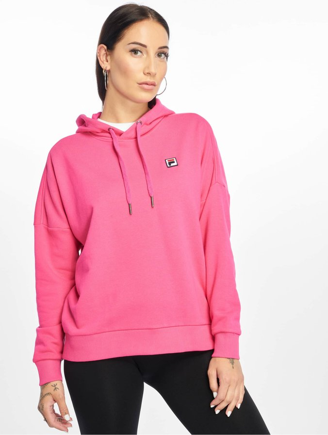 Fila Urban Line Ada Cropped Hoody Pink Yarrow