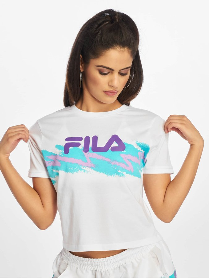 Fila Urban Line Gauri Cropped T Shirt Bright White