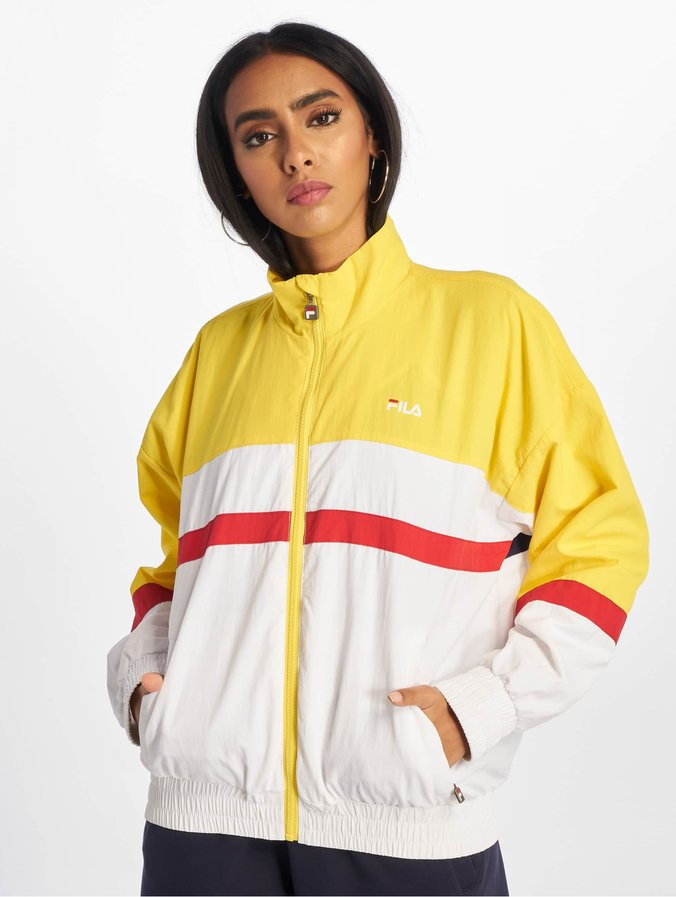 site réputé 07336 363d4 Fila Urban Line Kaya Wind Jacket Empire Yellow/Bright White/Black