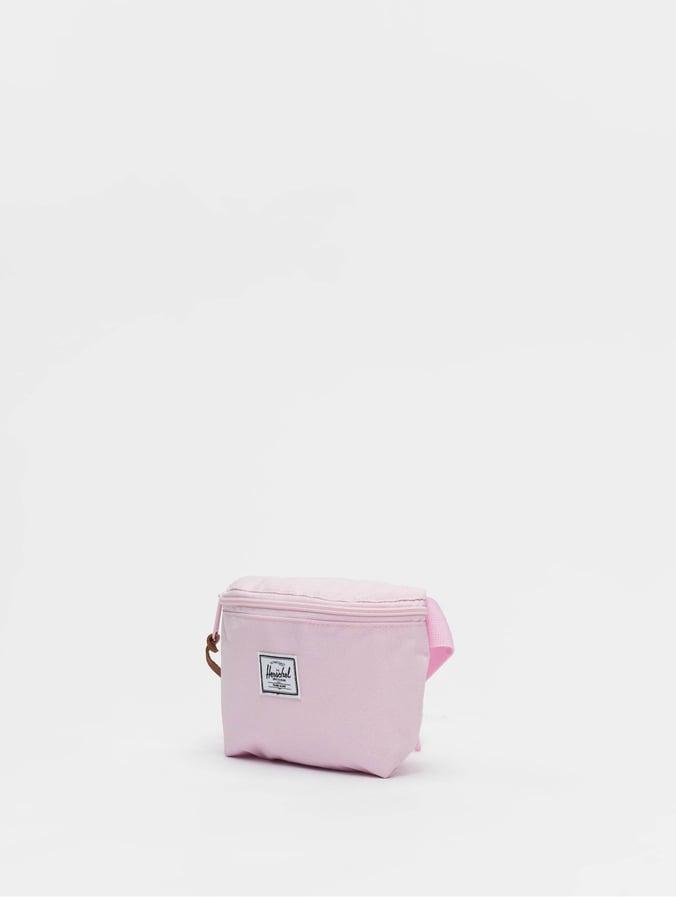 Herschel Fourteen Hip Pack Pink Lady Crosshatch