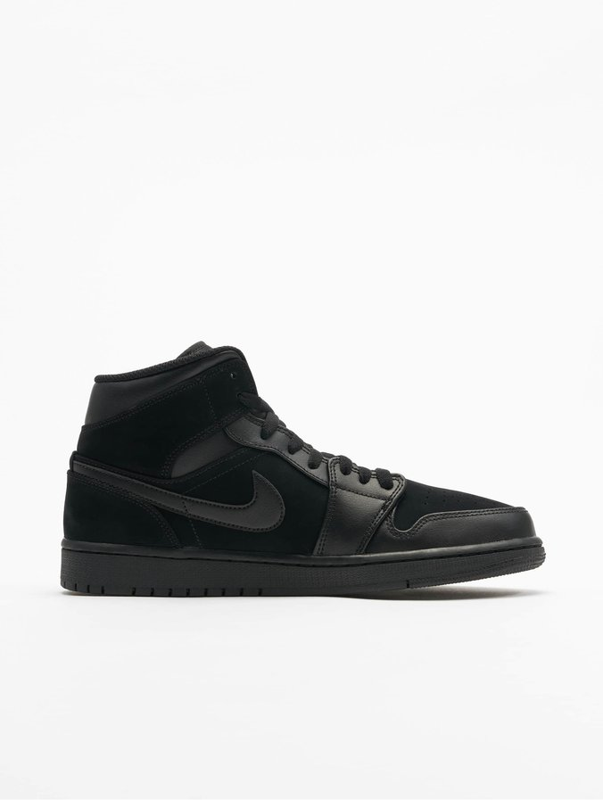 sélection premium a0df6 cfa3a Jordan Air Jordan 1 Mid Sneakers Black/Dark Grey/Black