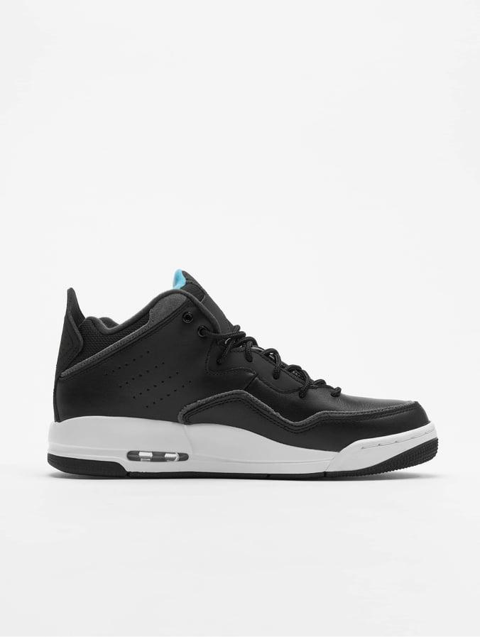 livraison gratuite 6f757 6a7e1 Jordan Courtside 23 Three Quarter High Sneakers Black/Orange Peel/Dark  Grey/Blue Fury