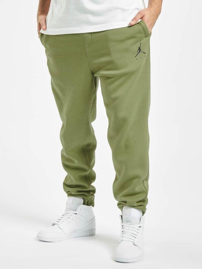 Jordan Jumpman Fleece Sweat Pants Thermal GreenBlack