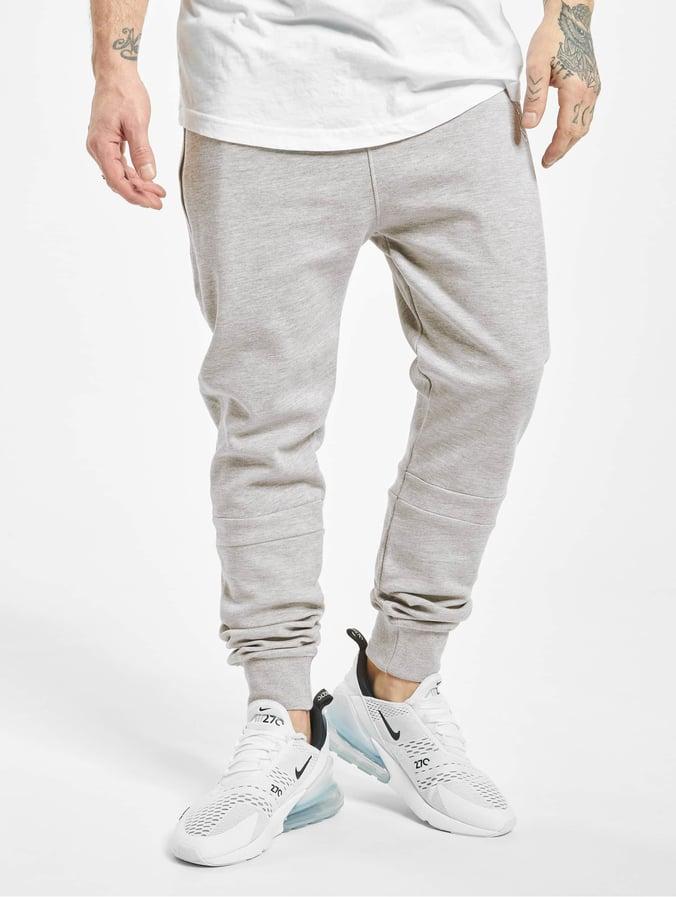 fa84dedf6731 Just Rhyse Big Pocket Tech Sweatpants Light Grey Melange