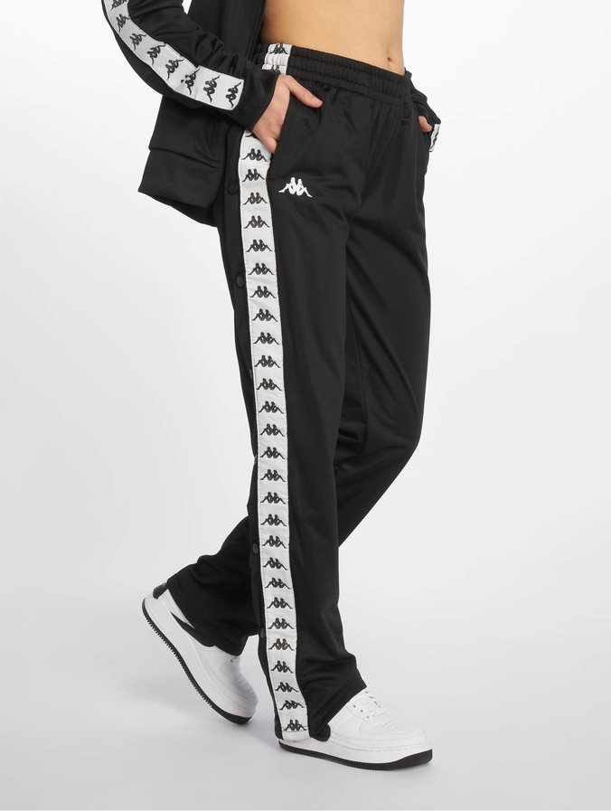 Kappa Elvira Tracksuit Pants Black