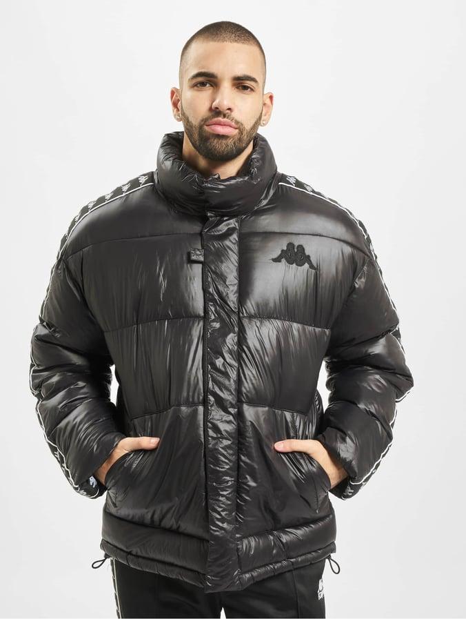 zuverlässige Qualität verschiedenes Design Volumen groß Kappa Herren Puffer Jacket Francis in schwarz 702651