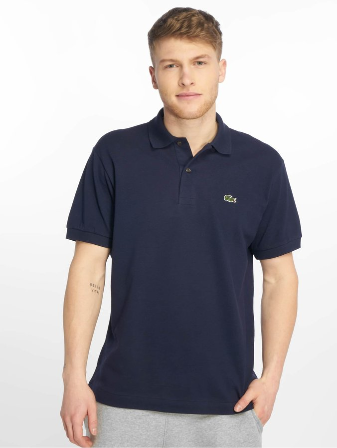 best sneakers a93c2 fda0a Lacoste Classic Basic Polo Shirt Navy Blue