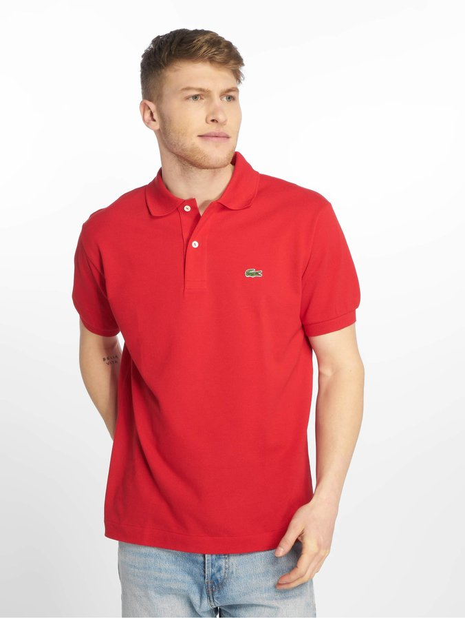 Modestil unverwechselbares Design super service Lacoste Classic Basic Polo Shirt Red