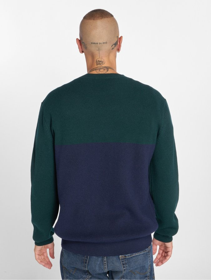 check out 60cb0 08830 Lacoste Block Sweatshirt Navy Blue/Aconit/White