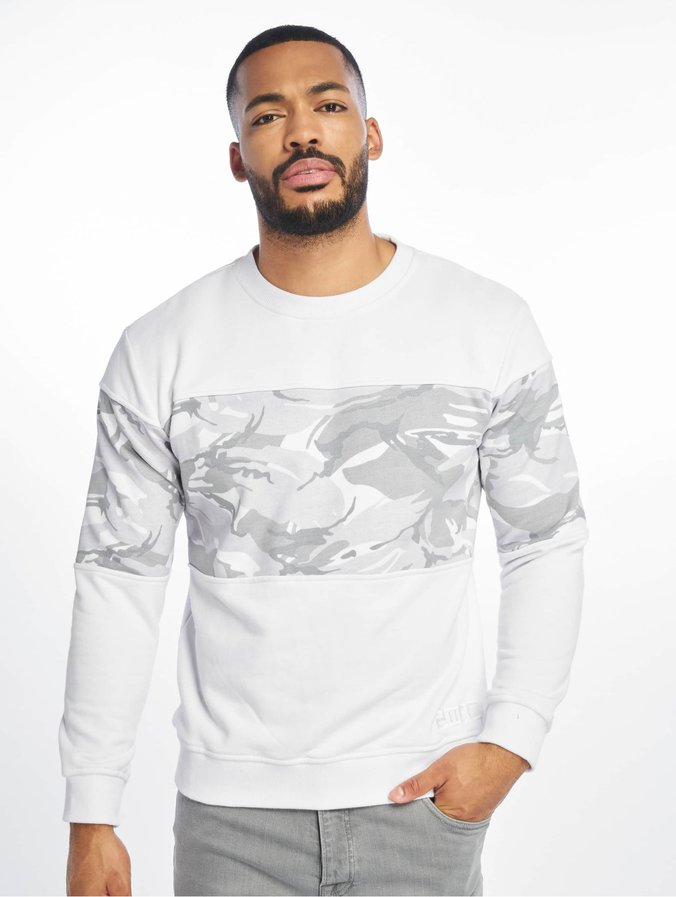 sale retailer abcaa 51548 Lifted Mica Crewneck White/Camouflage