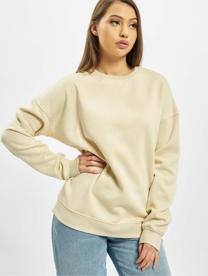 Missguided Cropped Branded Sweatshirt Stone