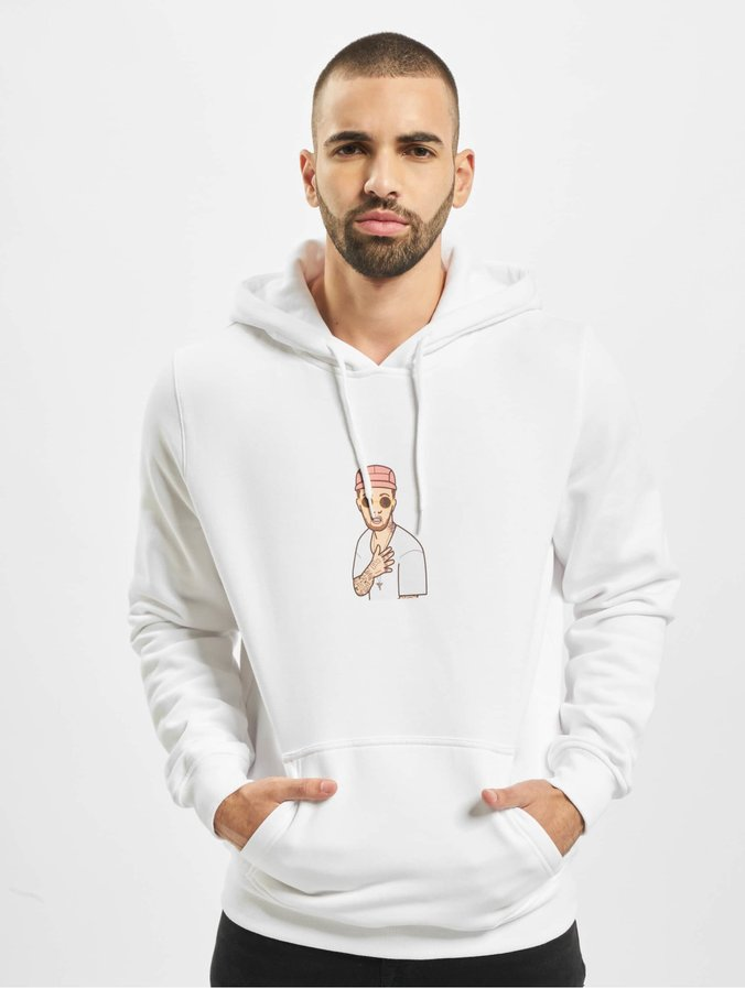Mister Tee Milly Hoody White