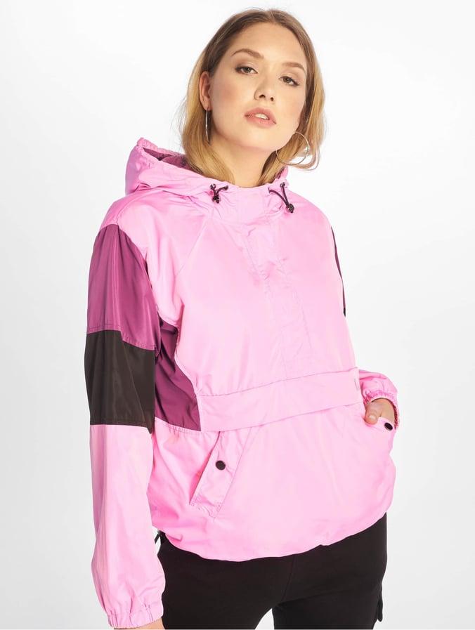 NA KD Hood Anorak Jacket Pink
