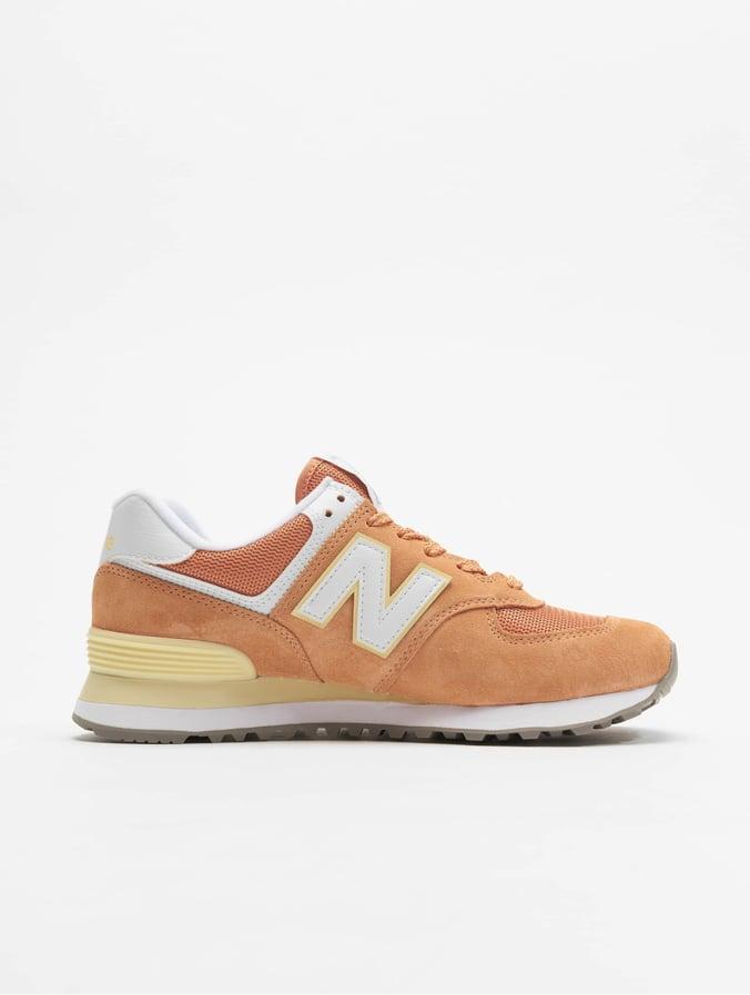New Balance WL574 Sneaker Orange