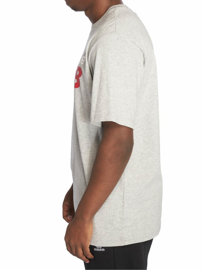 New Balance Essentials Normal T Shirt Athletic Grey