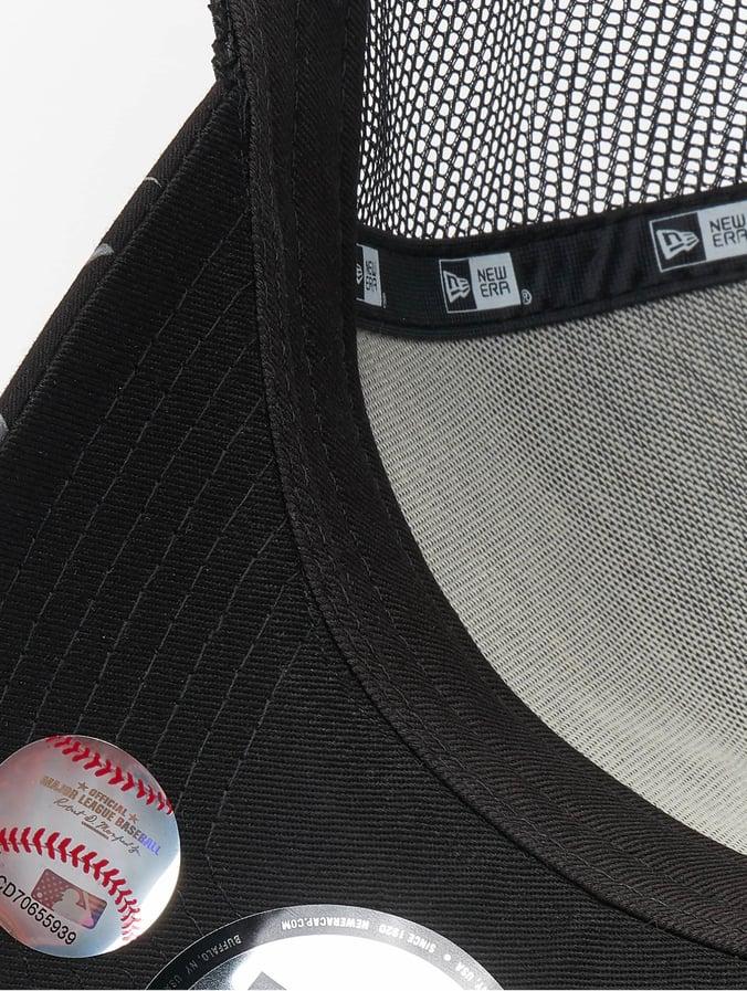 16796b1df0797 New Era Casquette Trucker mesh MLB NY Yankees Desert Island 9forty A-Frame  noir