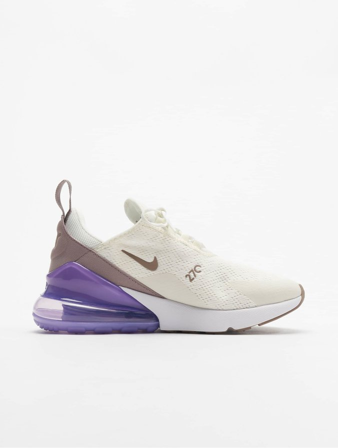chaussures de sport 7865c ea2ce Nike Air Max 270 Sneakers Sail/Pumice/Space Purple/White