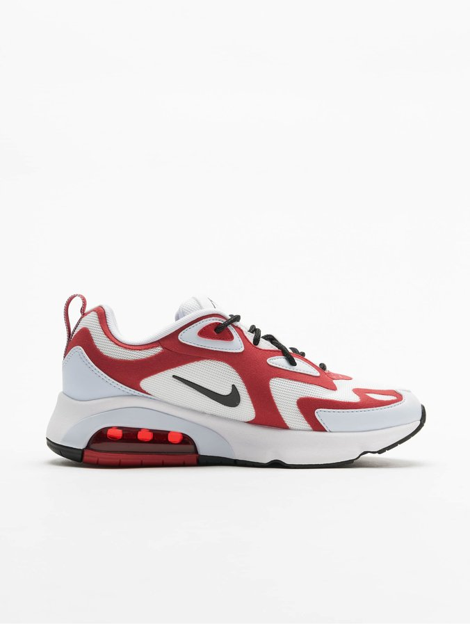 Nike Air Max 200 Sneakers White/Black/Gym Red/Half Blue