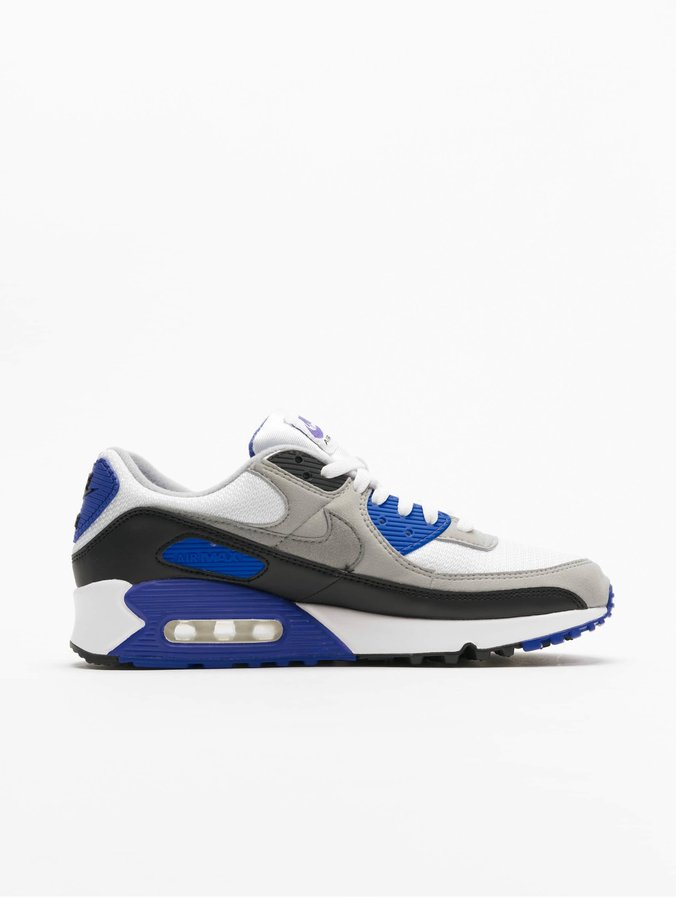 Nike Air Max 90 Sneakers WhiteParticle GreyHyper RoyalBlack