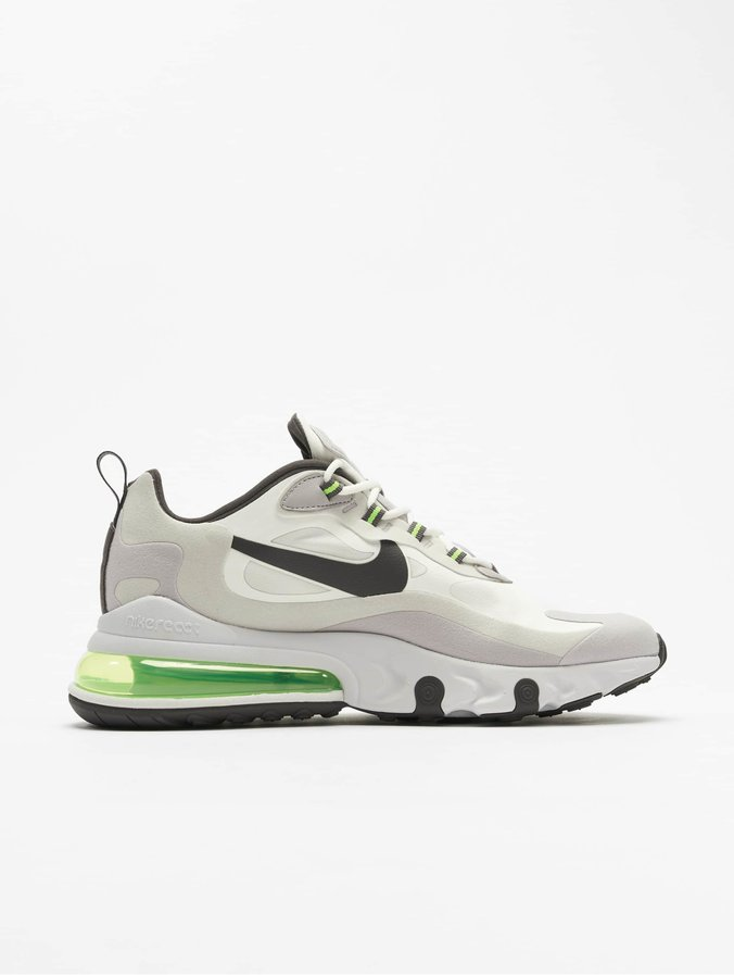 Nike Air Max 270 React Sneakers Summit WhiteElectric GreenVast Grey