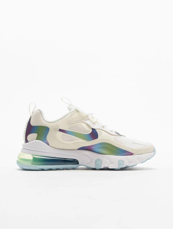 Nike Air Max 270 React 20 (GS) Sneakers Summit WhiteMultiColorPlatinum Tint