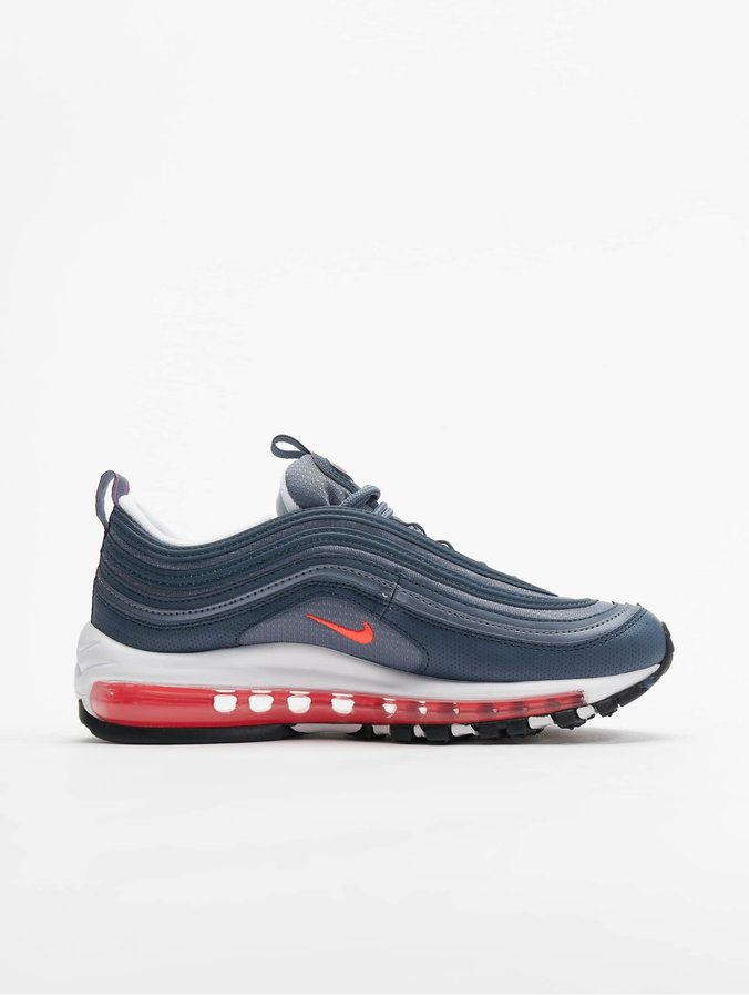 cute new release attractive price Nike Air Max 97 (GS) Sneakers Monsoon Blue/Flash Crimson