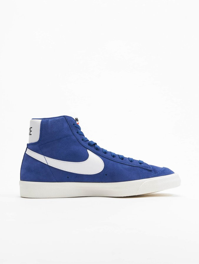 Nike Blazer Mid '77 Suede Sneakers Deep Royal Blue/White/White/Black