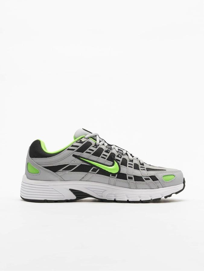 Nike P 6000 Sneakers Wolf GreyElectric GreenBlackWhite
